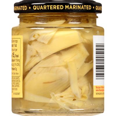 Reese's Artichoke Hearts, Quartered, Marinated