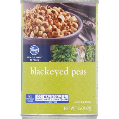 Kroger Peas, Blackeye