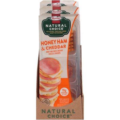 Hormel Natural Choice Honey Ham & Cheddar Cheese & Crackers