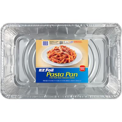 EZ Foil 19-1/2 x 11-1/2 x 3-1/2 in. Pasta Pan