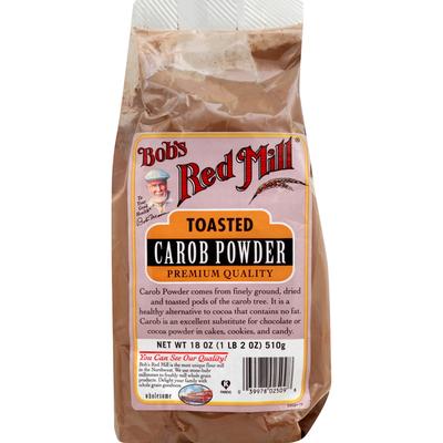 Bob's Red Mill Carob Powder, Toasted, Premium Quality