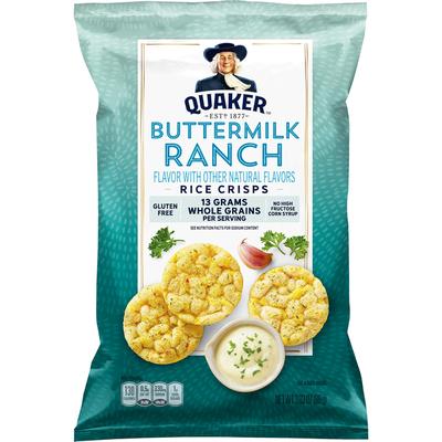 Quaker Rice Crisps, Buttermilk Ranch