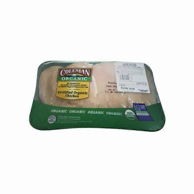 Coleman Organic Thin Breast Chicken Cutlets