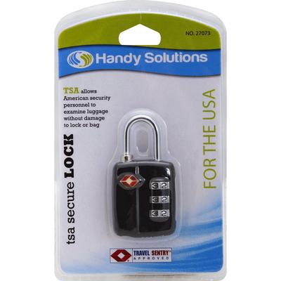 Handy Solutions Lock, TSA Secure