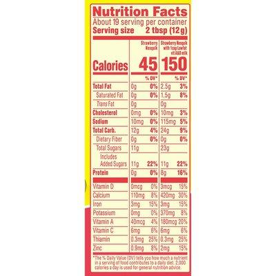 Nestle Nesquik Strawberry Flavored Powder