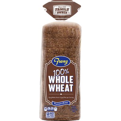 Franz Bread, 100% Whole Wheat
