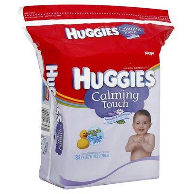 Huggies Baby Wipes, Lavender & Chamomile, Mega