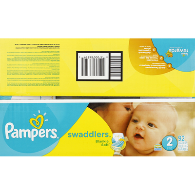 Pampers Swadlers