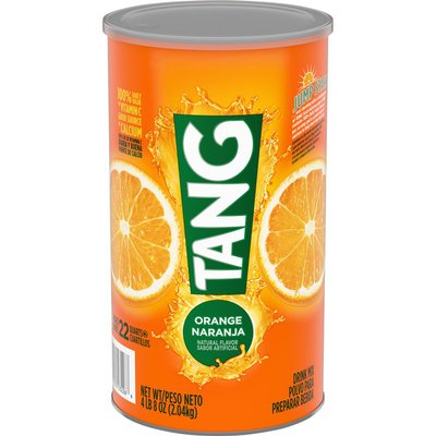 Tang Orange Naturally Flavored Powdered Soft Drink Mix