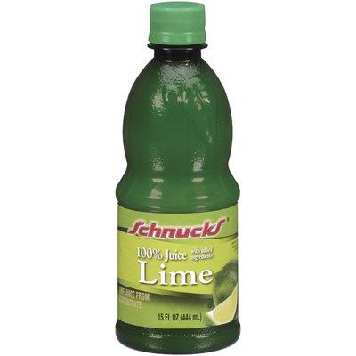 Schnucks 100% Lime Juice