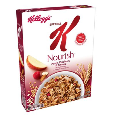 Kellogg's Special K Nourish Breakfast Cereal, Apple, Raspberry and Almond, Low Fat