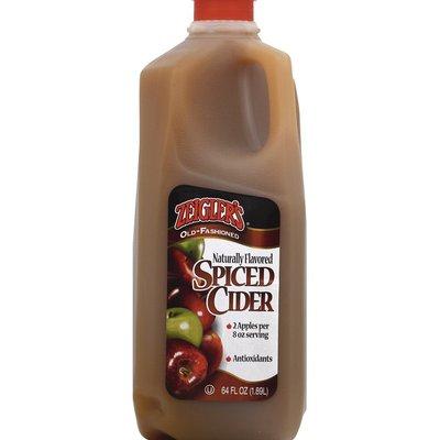 Zeigler's Spiced Cider, Old-Fashioned