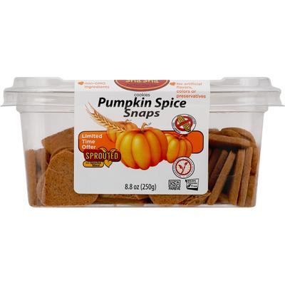 ShaSha Cookies, Pumpkin Spice Snaps