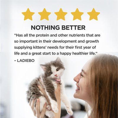 Purina Dry Kitten Food, Nurture Muscle + Brain Development