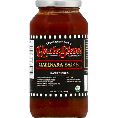 Uncle Steve's Marinara Sauce