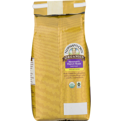 Newman's Own Coffee Newman's French Roast Dark Roast Organics Ground, Bag