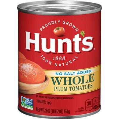 Hunt's Whole Plum Tomatoes No Salt Added