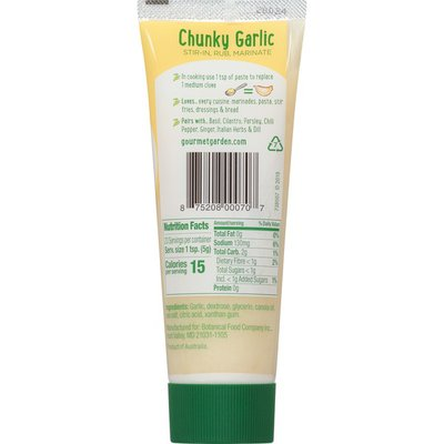 Gourmet Garden™  Chunky Garlic Stir-In Paste