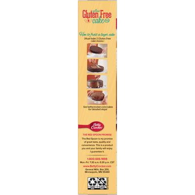 Betty Crocker Gluten Free Yellow Cake Mix
