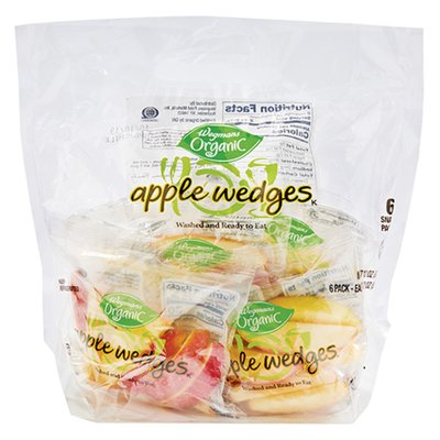 Wegmans Organic Food You Feel Good About Apple Wedges, FAMILY PACK