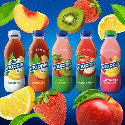 Snapple Juice Drink, Kiwi Strawberry