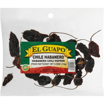 El Guapo®  Whole Habanero Chili Pods (Habanero Entero)