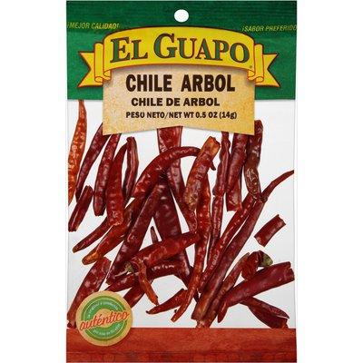 El Guapo® Whole Arbol Chili Pods (Chile de Arbol Entero)