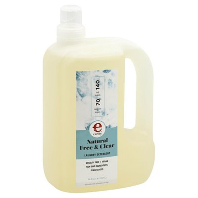 Earthy Laundry Detergent, Natural, Free & Clear