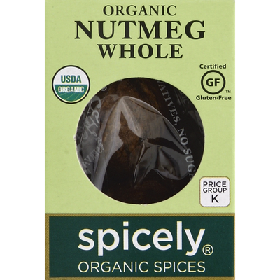 Spicely Nutmeg, Whole, Organic