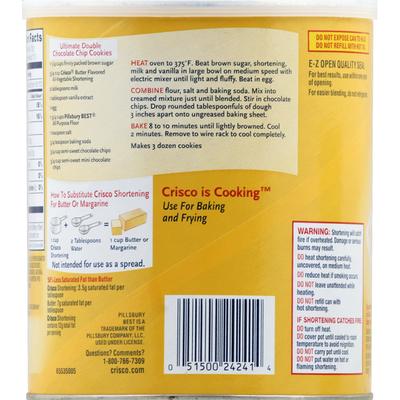 Crisco Shortening All-Vegetable Butter