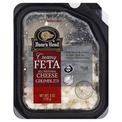 Boar's Head Cheese, Crumbles, Creamy Feta