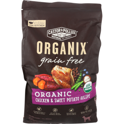 Castor & Pollux ORGANIX Grain Free Organic Chicken & Sweet Potato Recipe Grain Free Dry Dog Food