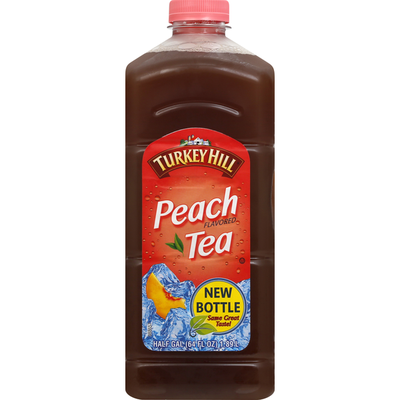 Turkey Hill Tea, Peach Tea Flavored