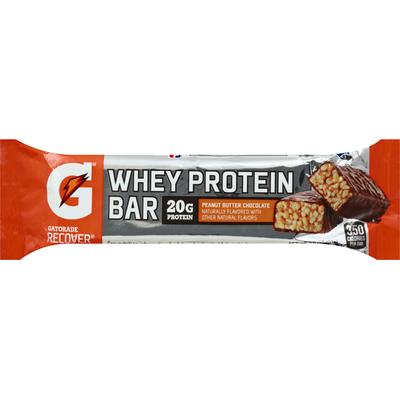 Gatorade Whey Protein Bar, Peanut Butter Chocolate