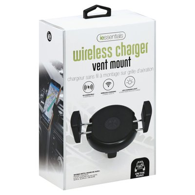 I Essentials Wireless Charger, Vent Mount