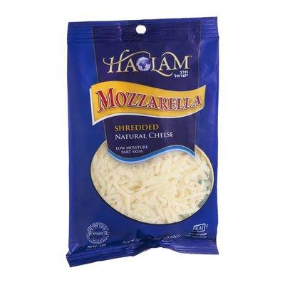 Haolam Cheese, Shredded, Low Moisture, Mozzarella, Part Skim