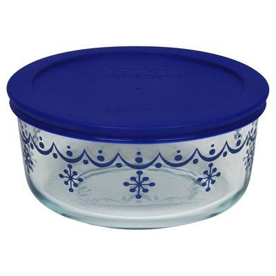 Pyrex Bowl, Classic Snowflakes