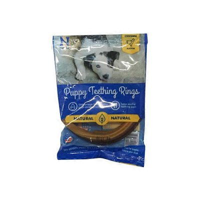N-Bone Puppy Teething Single Ring Chicken Flavor