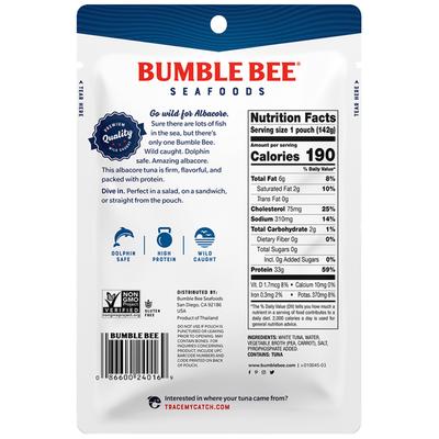 Bumble Bee Wild Caught Albacore Tuna in Water