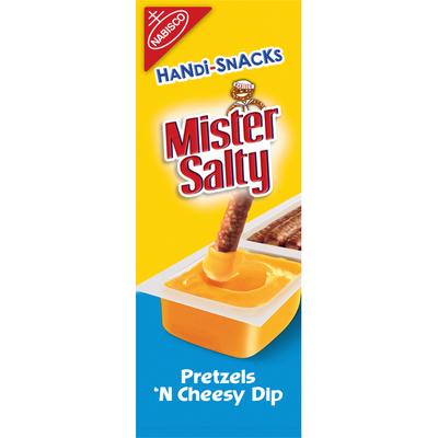 Nabisco Mister Salty Pretzels 'n Cheesy Dip