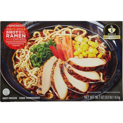 Ajinomoto Shoyo Ramen, with Chicken, Tokyo Style