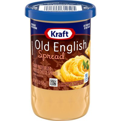 Kraft Old English Sharp Cheese Spread