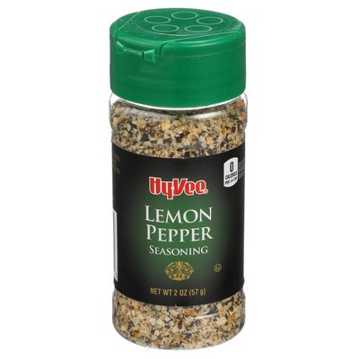 Hy-Vee Lemon Pepper Seasoning