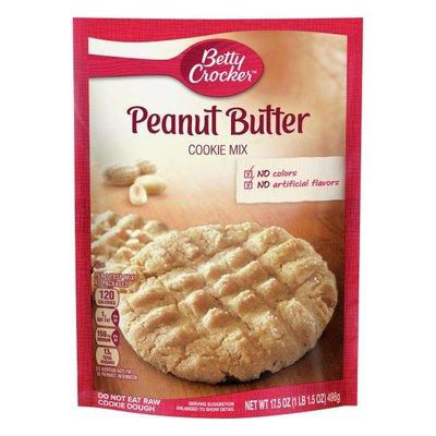 Betty Crocker Cookie Mix, Peanut Butter