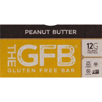 The GFB Gluten Free Bar, Peanut Butter