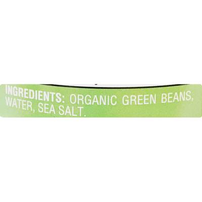 Nature's Promise Organic Cut Green Beans