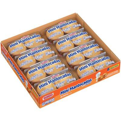 Bimbo Mantecadas Mini Vanilla Muffins
