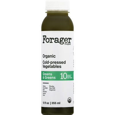 Forager Project Organic Greens & Greens Cold-Pressed Vegetables