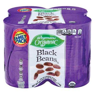 Wegmans Organic Black Beans, FAMILY PACK