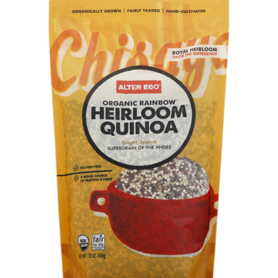 Alter Eco Organic Rainbow Heirloom Quinoa